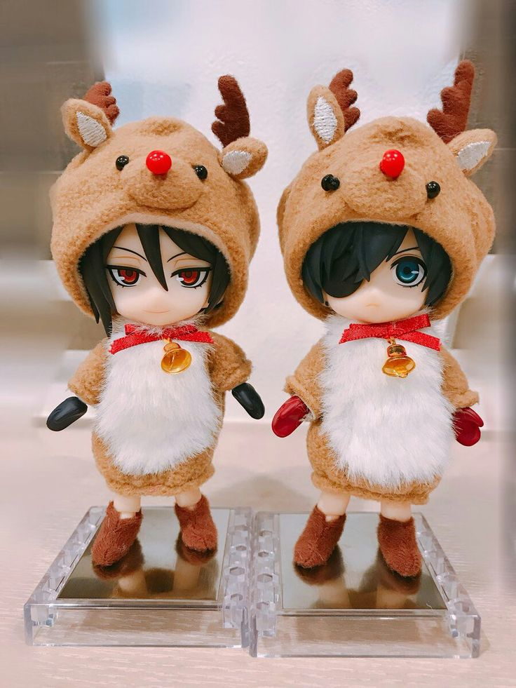 They are so cute, I want to have them too ^^♥