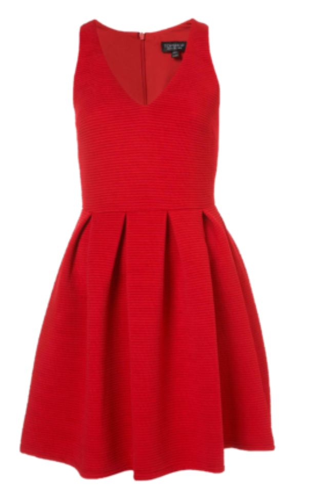 Best Red Holiday Dresses