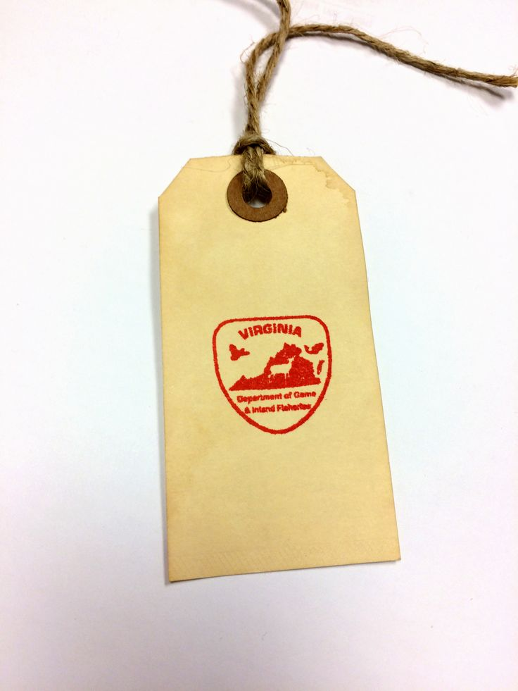 Virginia Department of Game & Inland Fisheries - #richmond #virginia #va #rva #stamp #stamps