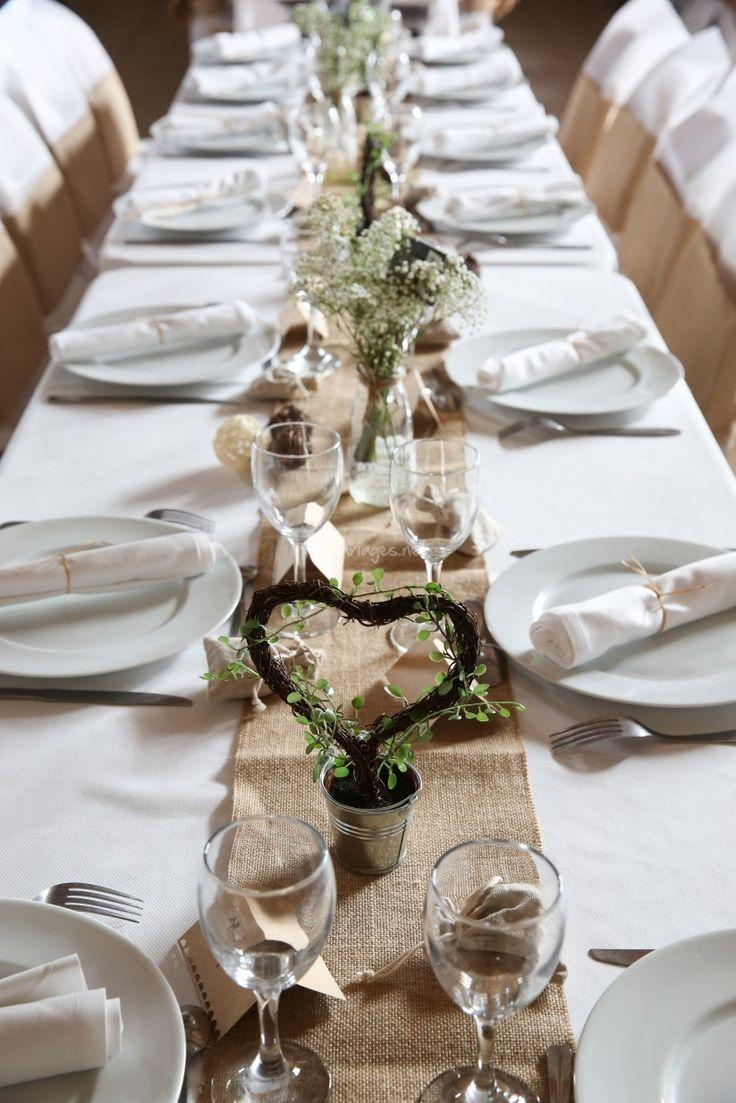 Centre Table Décoration: 12 inspirations pour un mariage champêtre