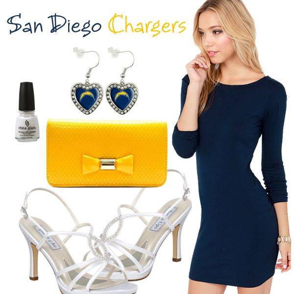 San Diego Chargers Dress: 48 Best San Diego Chargers Fashion, Style, Fan Gear Images