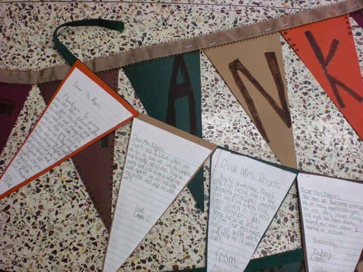 Principal Appreciation Day- Thank You Banner