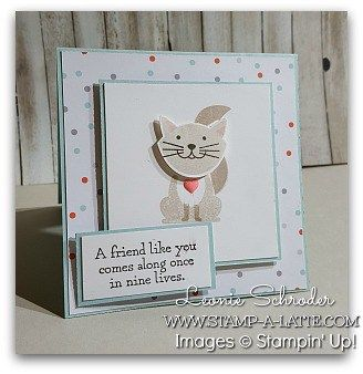 It's time for another new challenge from What will You Stamp .. this week the focus set is Foxy Friends!  Now when I first saw this set and punch…