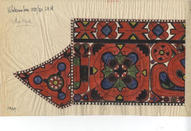 Kihelkonna khk, tanukiri (ERM EJ 119:39); Eesti Rahva Muuseum