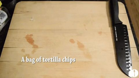 How to make chilaquiles, a traditional Mexican dish!