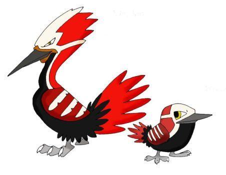 Pokemon-Fake- Woodpeckers by JoshuaDunlop