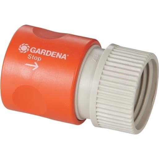 Gardena Hose Connector Waterstop 36918 Unit: Each