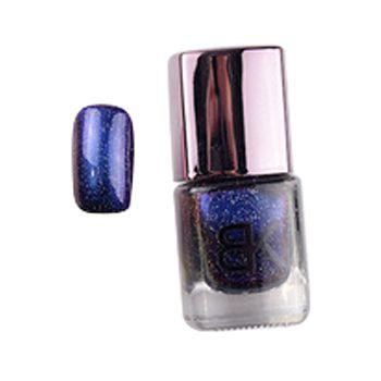 Céu Estrelado preto Holográfica Unha Polonês Marca BK Brilho Verniz de Unhas Esmalte Nail Art Professional Cosméticos 8 Cor 8 ml 1 PCS