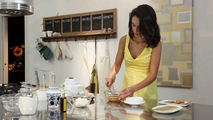 Cheesecake con amaretti e Amarena Fabbri con Csaba dalla Zorza