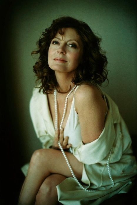 Susan Sarandon - beautiful, smart, and strong.