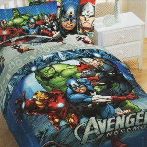 Marvel Avengers Bedroom Set