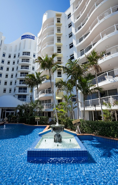 Phoenician Broadbeach — Phoenician Resort is the perfect base for your Gold Coast holiday. Best Gold Coast Accommodation Broadbeach