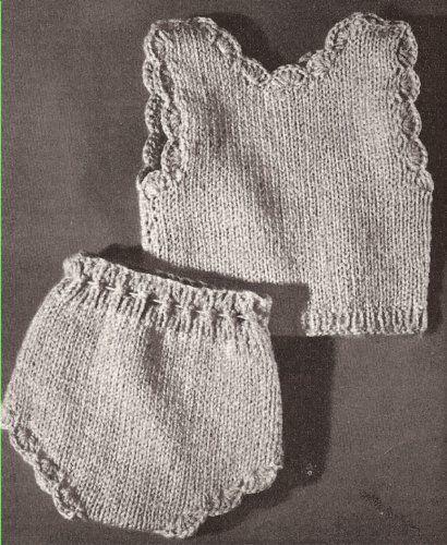 Vintage Knitting PATTERN to make - Knitted 18