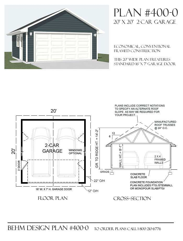 Buy garage plans at behm design garage plans pinterest for Engineered garage plans