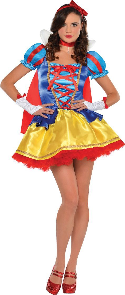 Adult Princess Snow White Costume Party City 5 Stars Halloween Disney