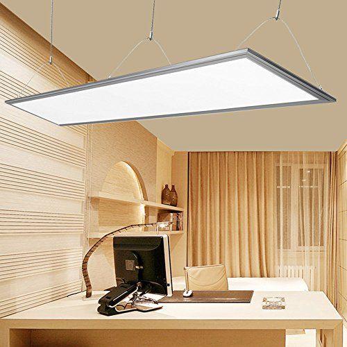 LE® 36W LED Panel, Ersatz für 80W Leuchtstoffröhre, 2700lm, Warmweiß, 3000K, 295*1195mm, LED Panelleuchte mit Befestigungsmaterial und Treiber/Trafo, LED Panellampen, LED Deckenleuchte, Pendelleuchten Lighting EVER http://www.amazon.de/dp/B00SF9XPR8/ref=cm_sw_r_pi_dp_tws2wb1Z292NP