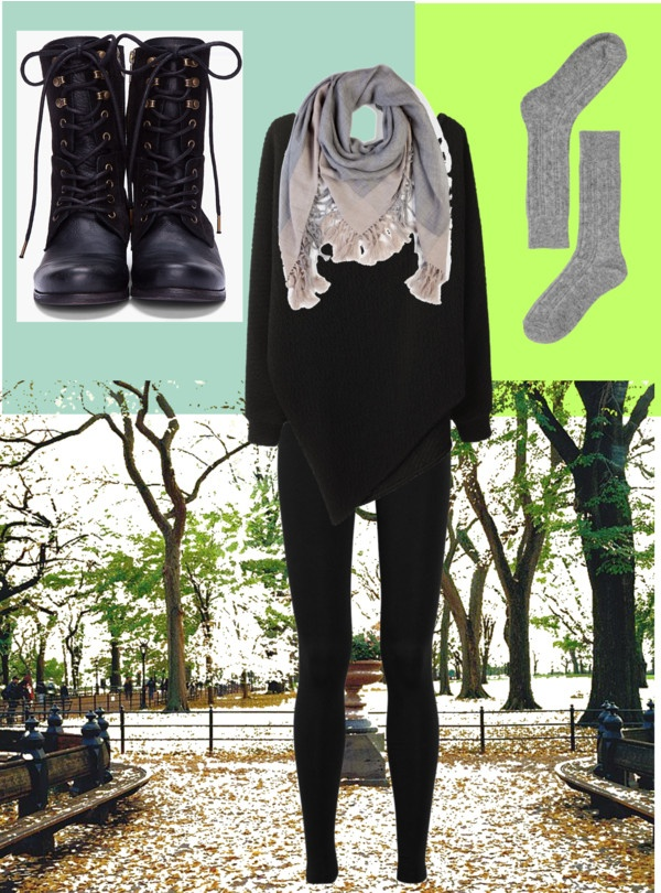 """Green field and blue sky"" by raluknaluk on Polyvore"