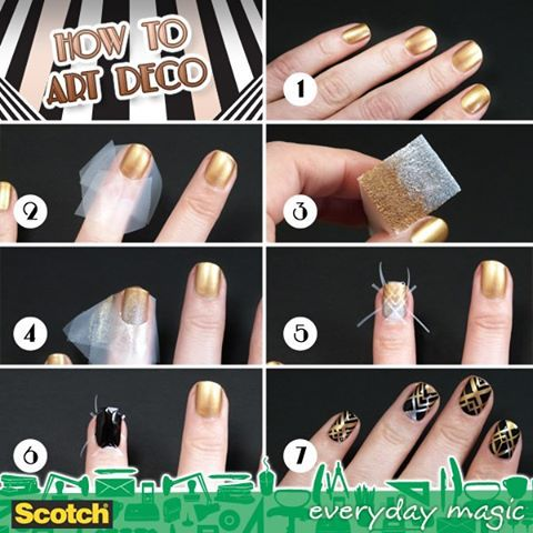 The 10 best images about prom on pinterest nail arts long hair how to make nail art deco step by step diy instructions how to how solutioingenieria Gallery