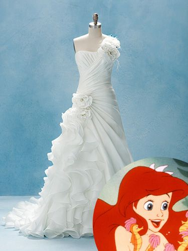 Disney Princess Wedding Gowns - Wedding Dresses Inspired by Disney Princesses - Good Housekeeping