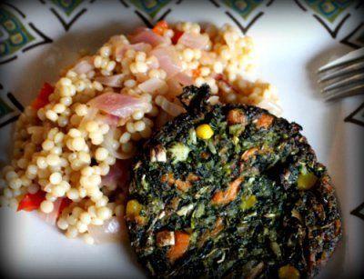 Vegan Israeli (pearl) Couscous (ptitim) in the pressure cooker / instant pot