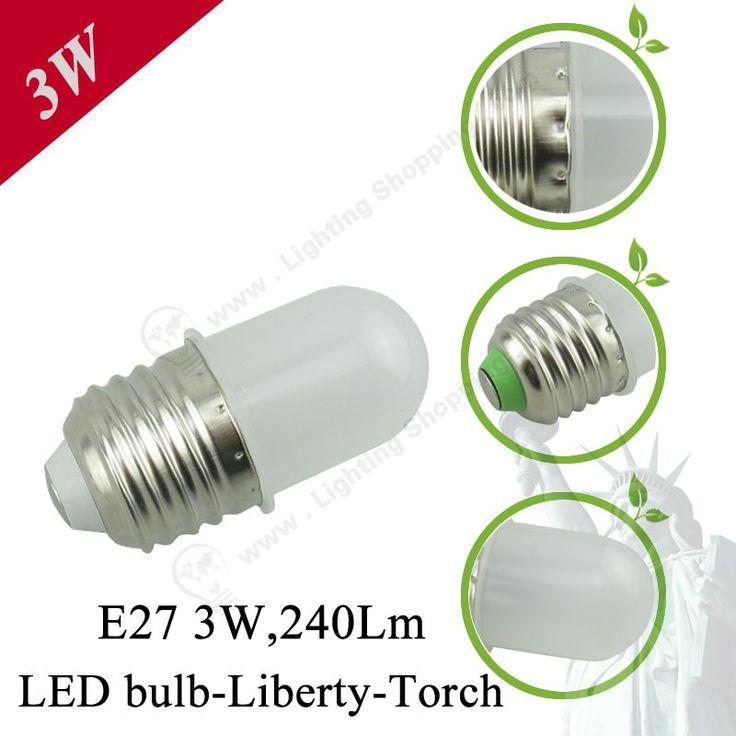 E27 Liberty Torch-Detail-3W