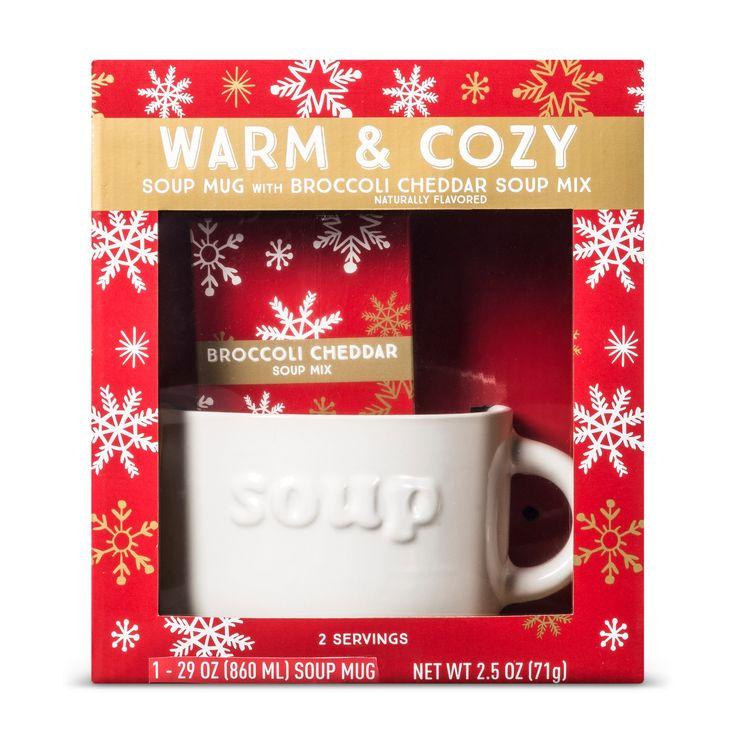 Christmas Soup Bowl Gift Set - 2.5oz