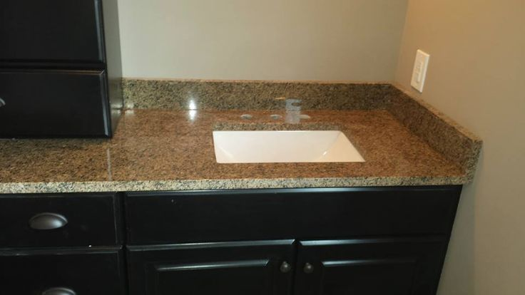 Dakota Sinks : ... Dakota undermount lavatory sinks in Crema Terra granite from OHM