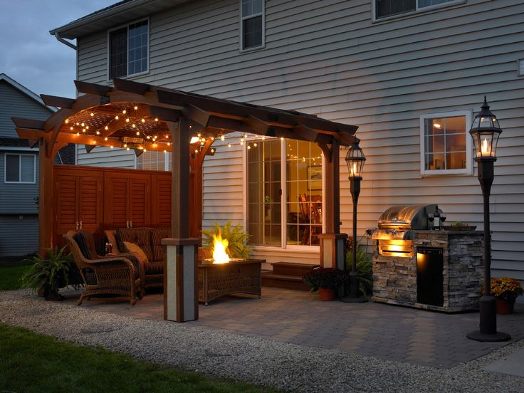 Very pretty outdoor space!