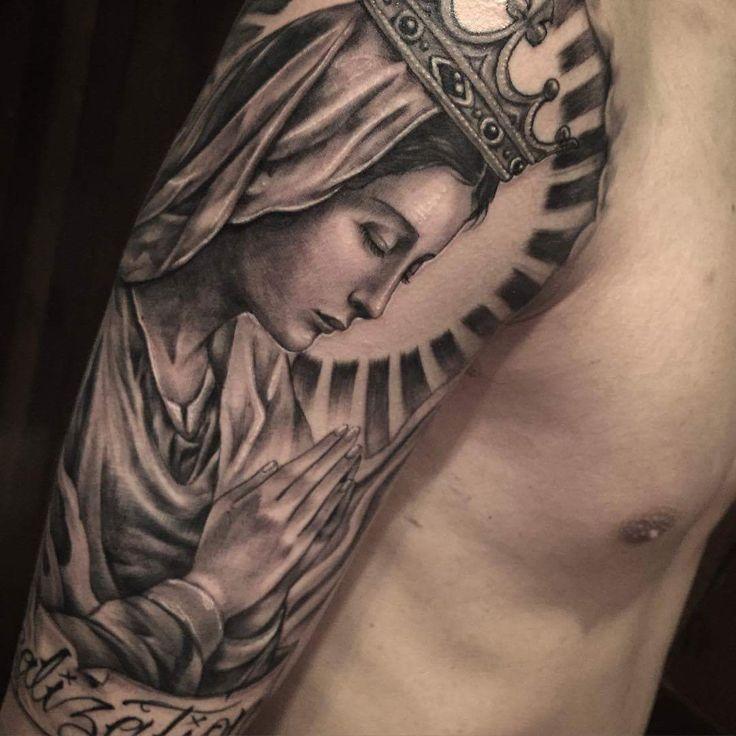 25+ Best Ideas About Virgin Mary Tattoos On Pinterest