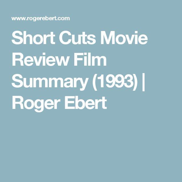 Short Cuts Movie Review Film Summary (1993) | Roger Ebert