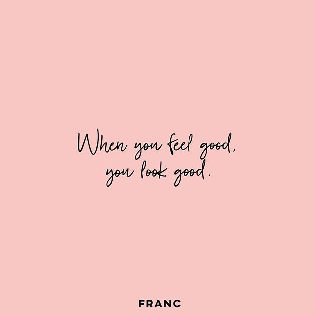 Wear more of what makes you feel good. . # ...
