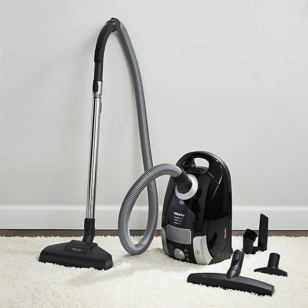 Crate & Barrel Miele Compact C1 Turbo Team Vacuum Cleaner
