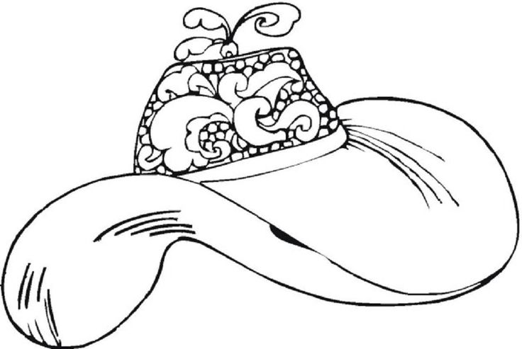 Women 39 s hats coloring pages woman pinterest for Ladies hat coloring pages