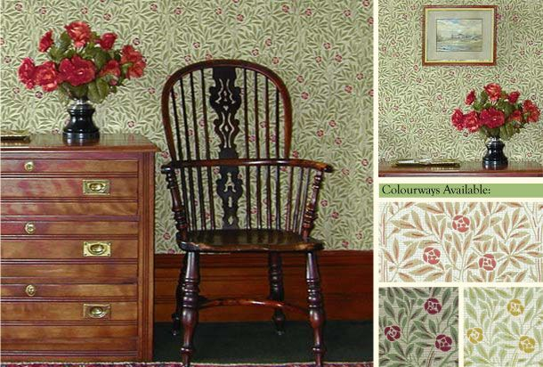 Designed by William Morris in 1908 The Garden Collection