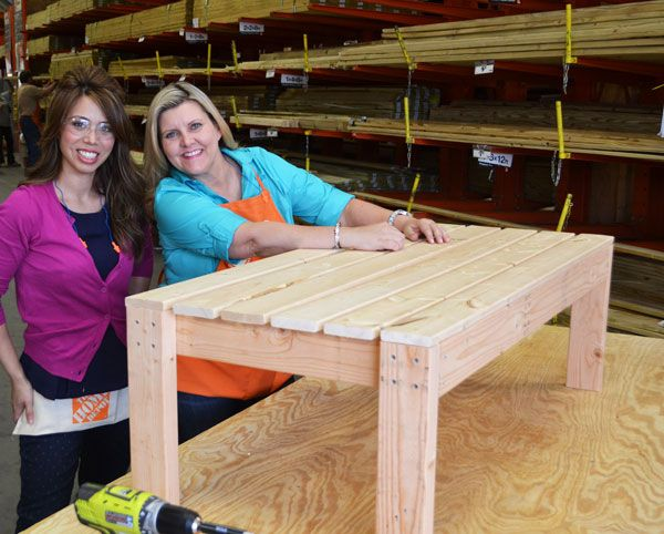 Ana White | Build a Home Depot DIHWorkshop Adirondack Coffee Table | Free and Easy DIY Project and Furniture Plans
