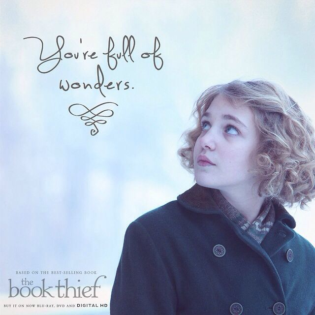 Book Thief Quote / Max / Liesel