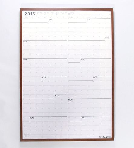 2015 Grayscale - Large Wall Calendar. Nowhere to put this but I would love to have this handy.