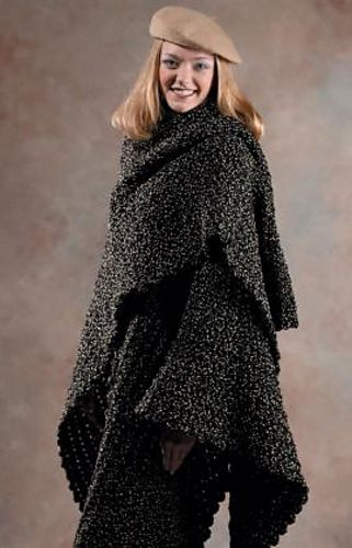 Ravelry: The Wrap pattern by Marilyn Coleman