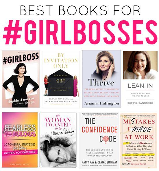 Best Books for a #Girlboss | The Reading List for Women Entrepreneurs