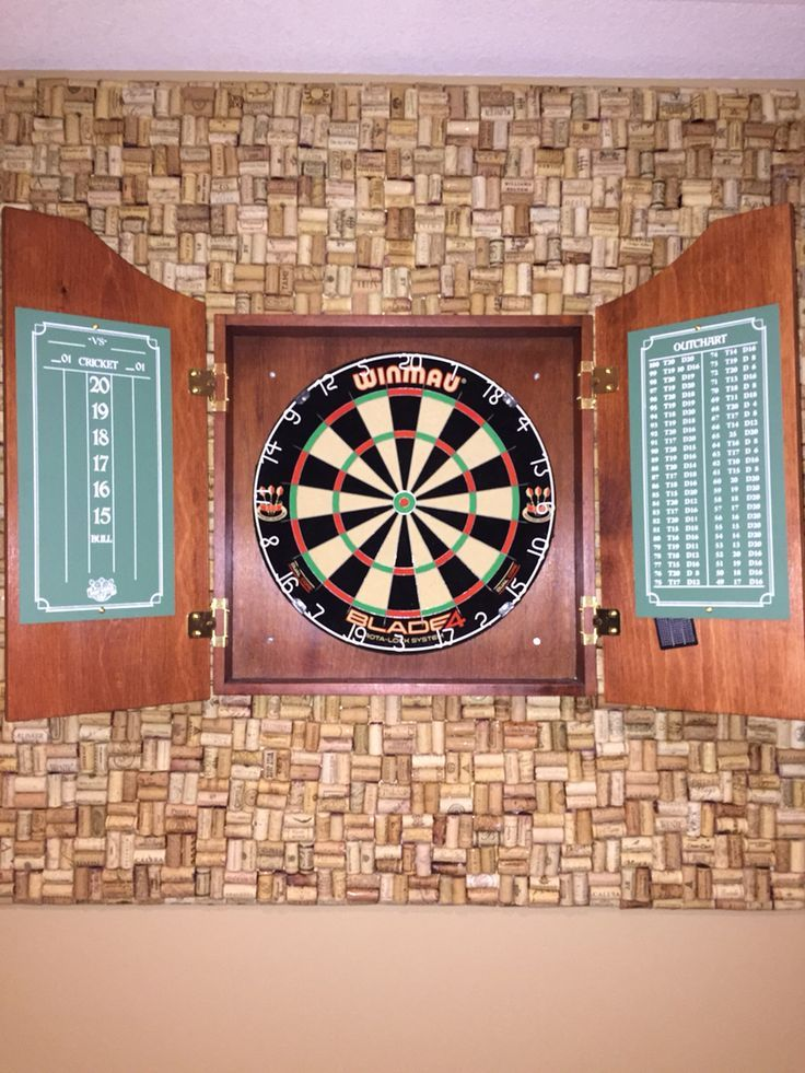 Cork Board for Dart Board | 1000+ images about dart board on Pinterest | Wine Corks, Corks and ...