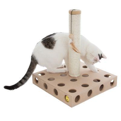 zoolove Tronc à griffer Scratch & Play II pour chat