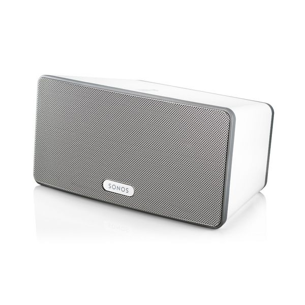 Sonos wireless sound system. I LOVE mine!! Got it for my birthday, and I can now control music in three different rooms with my phone, iPad or PC. Pandora, radio, MP3s, iHeartRadio...you name it. It's awesome!