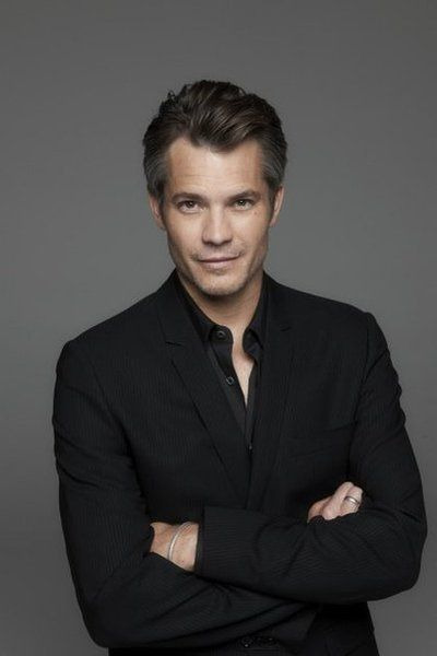 timothy olyphant - with these gray streaks, I don't know.  Something about him, lol.
