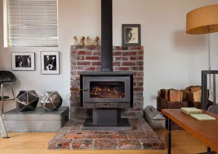 New free standing wood burning stove home Ideas