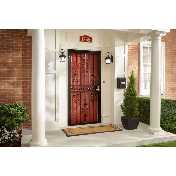 Die 25+ besten Steel security doors Ideen auf Pinterest - unique home designs security doors