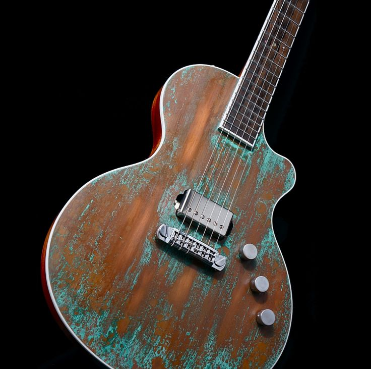 Distressed finish electric guitar. There is a market for this. Not fully custom, but custom destroyed, basically.