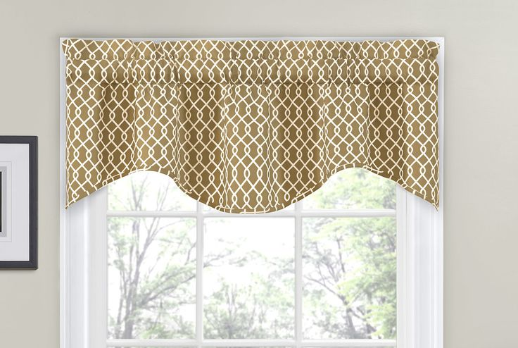 "Ellis 56"" Curtain Valance"