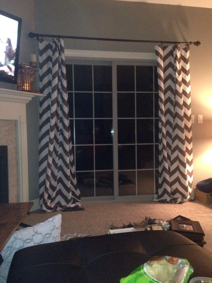 8 Best Slider Door Curtains Images On Pinterest Curtains