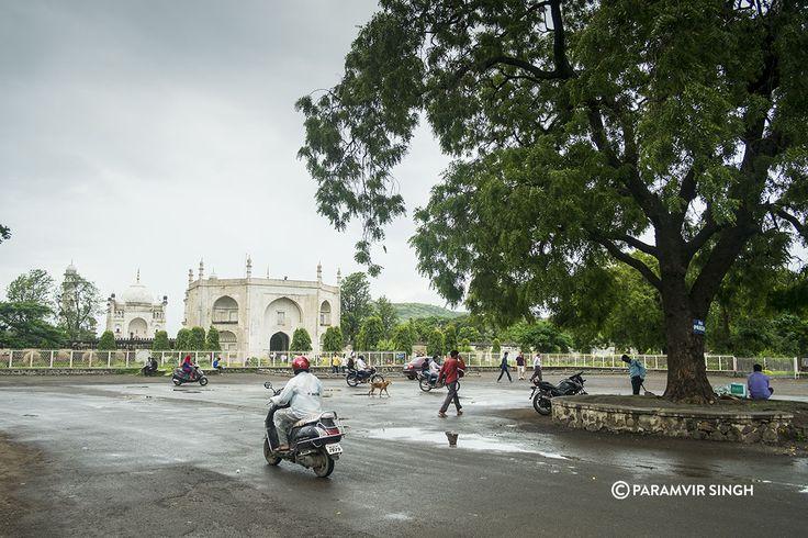 Bibi Ka Maqbara in Aurangabad, Maharashtra, India. Made by Azam Shah in the memory of his mother Dilrash Banu Begum, it's an austere but beautiful monument.