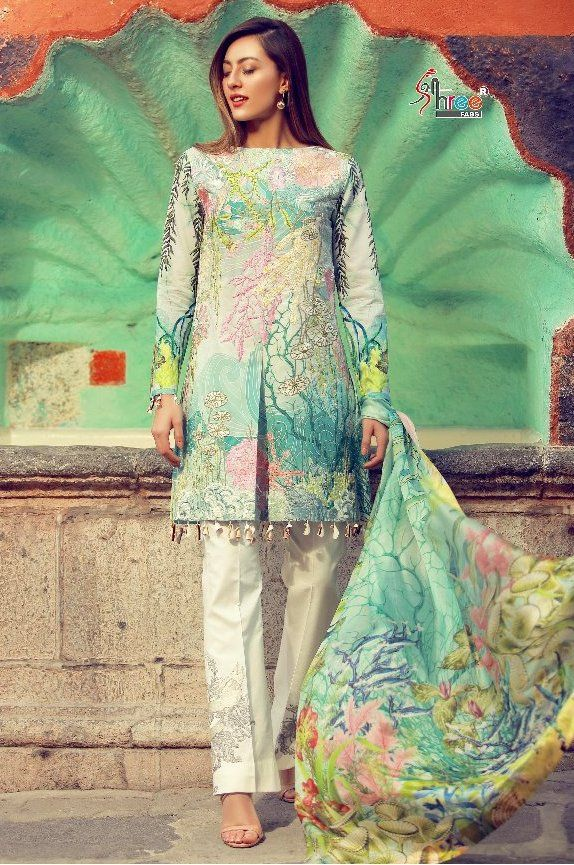 3b3478188c Shree Fab Rangrez Vol-4 Cambric Cotton Suit ( 8 pc Catalog ) | shree ...